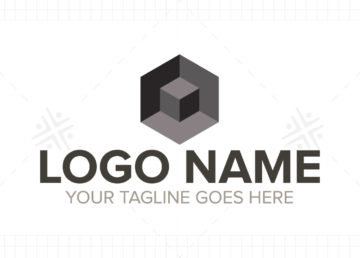 buy real estate 3d logo online